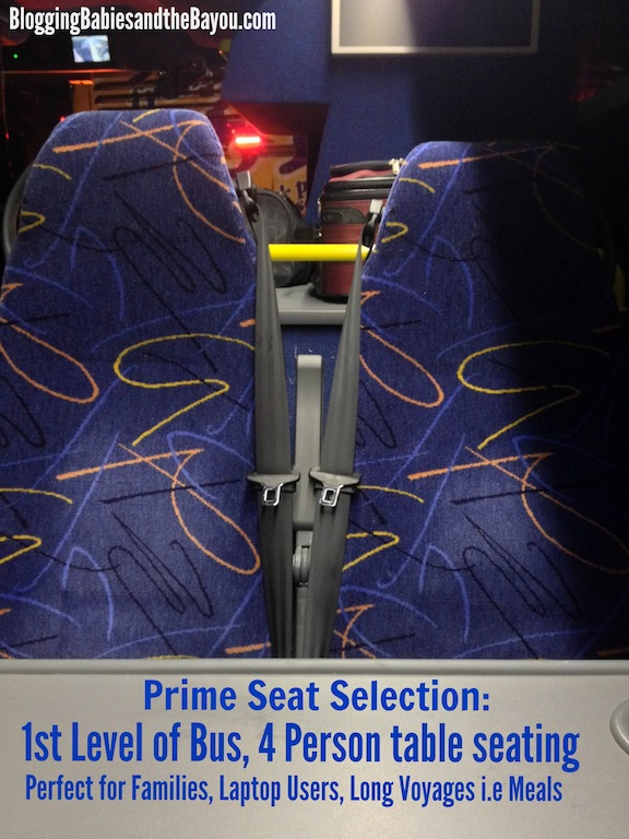 How to choose the best seats on your next MegaBus trip #BayouTravel