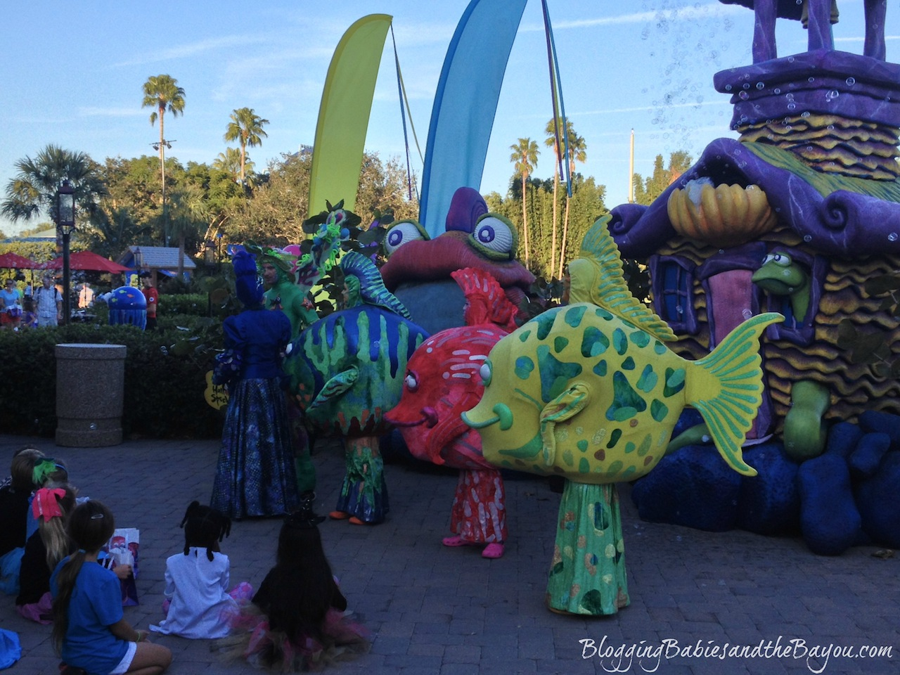 Creative Childrens Education at Theme Parks like Sea World Orlando Florida #BayouTravel