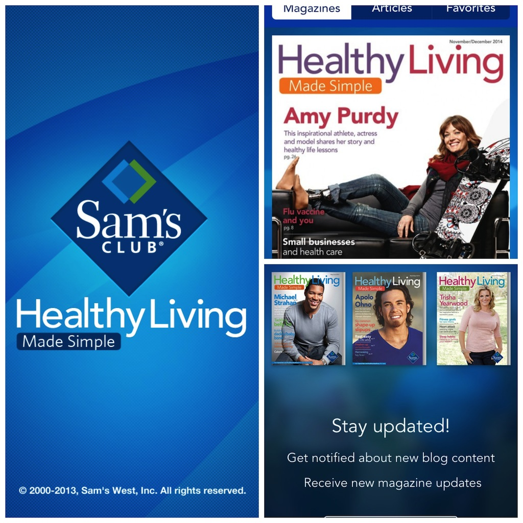 Healthy Living Made Simple - Sams Club Healthy Living Made Simple Magazine. #Cbias #SimplyHealthy #Shop #CollectiveBias