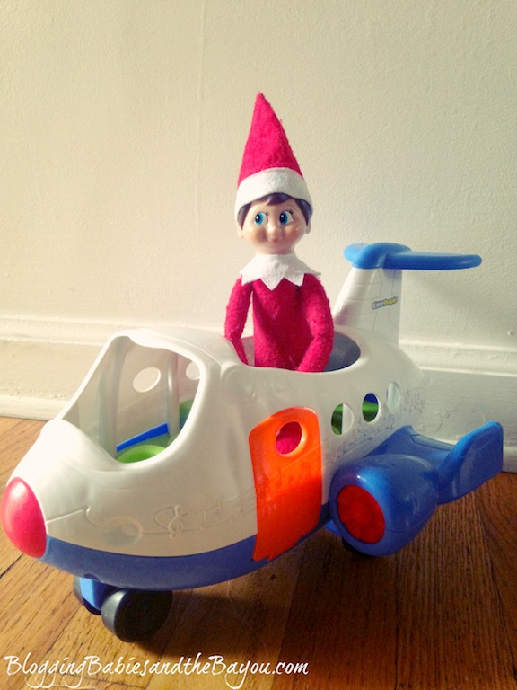 Holiday Air Travel - Elf on the Shelf- Winter Escape #BayouTravel Series