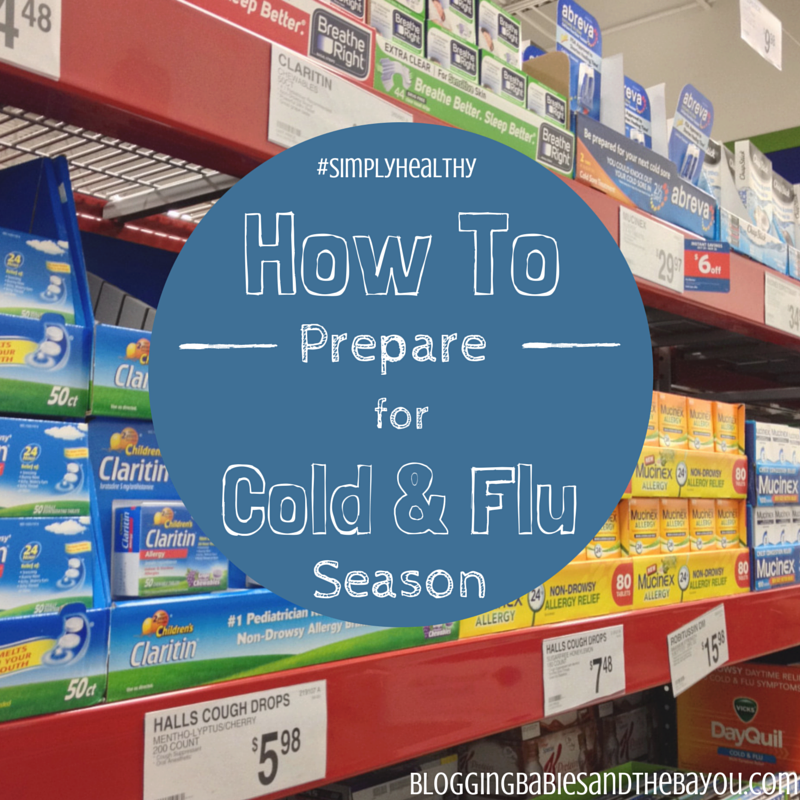 How To Prepare For Cold & Flu Season #SimplyHealthy #Cbias #Shop
