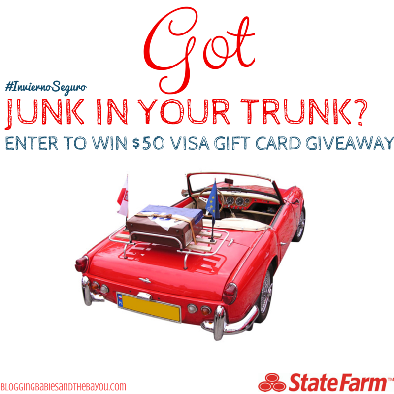 I've Got Junk in My Truck! $50 Visa Gift Card Giveaway Ends 12_5 #InviernoSeguro