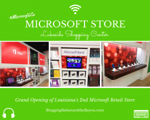 Microsoft Retail Store Grand Opening - Lakeside Shopping Center #MicrosoftLa