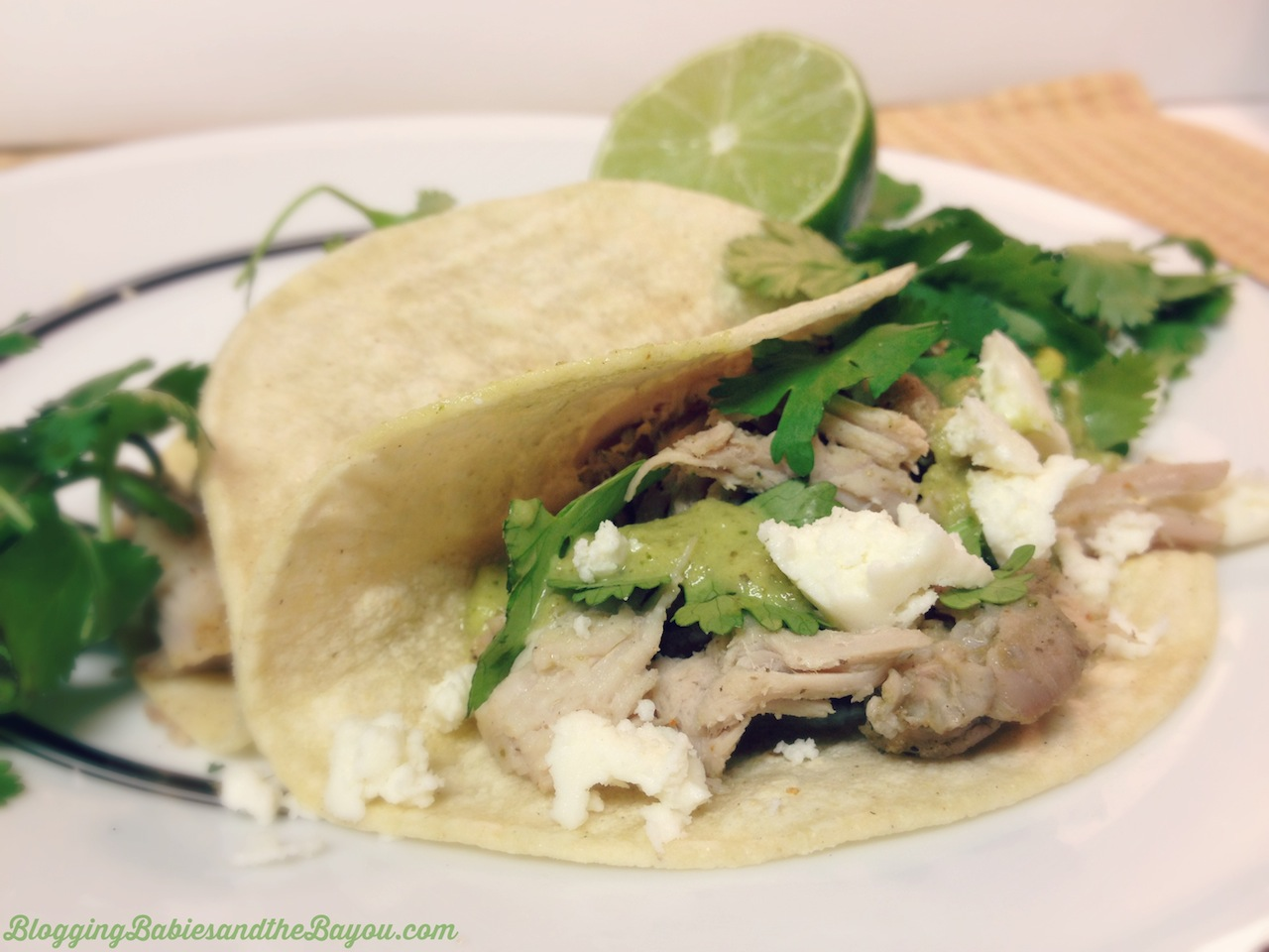 Pork Carnitas con Tomatillo Verde Sauce - Tabasco Green Pepper Sauce #SeasonedGreetings #Shop #Cbias