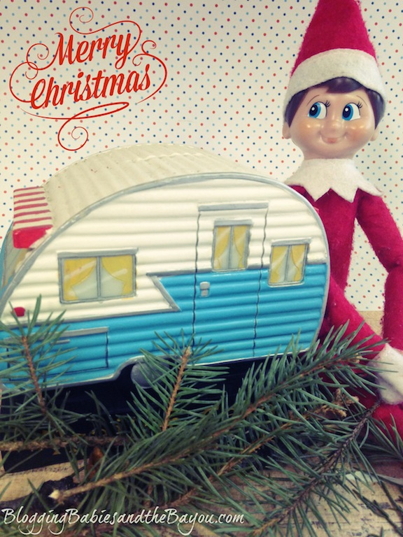 RV Christmas Travel - Elf on the Shelf- Winter Escape #BayouTravel Series