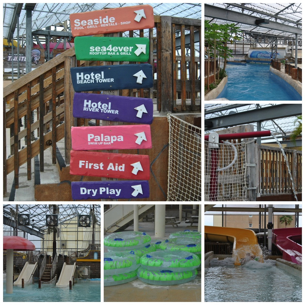 Large Indoor Heated Waterpark at Schlitterbahn Beach Waterpark and Resort – South Padre Island #Ad