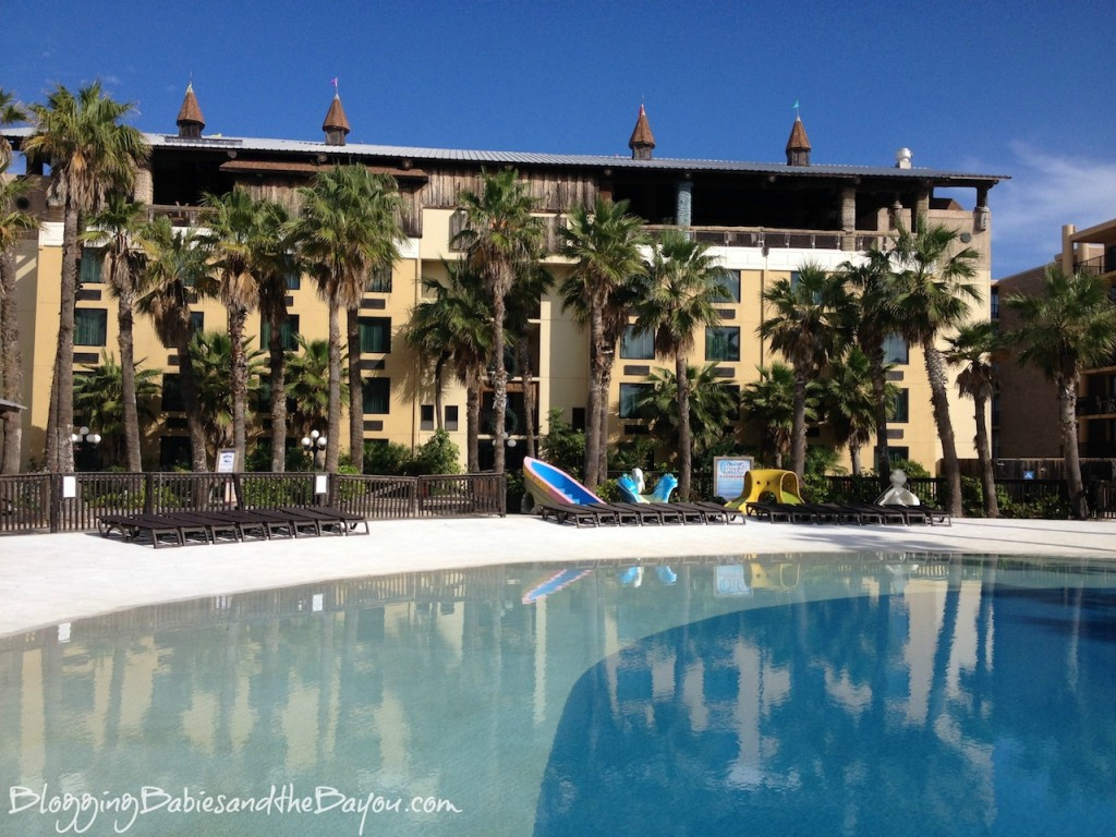 Outdoor Pool at Schlitterbahn Beach Waterpark and Resort – South Padre Island #Ad
