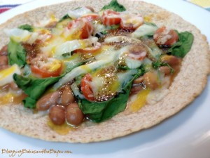 Quick & Healthy Weekday Dinners: Whole Wheat Bean Tostada Recipe with Bush's Cocina Latina