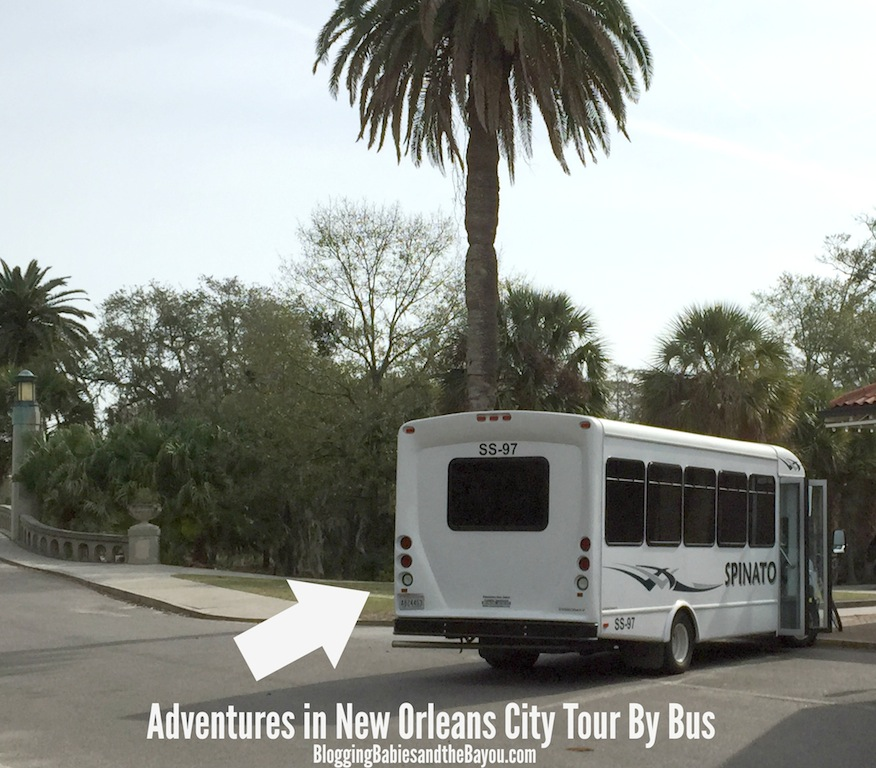 Adventures in New Orleans City Tour By Bus - New Orleans Bus tours #BayouTravel