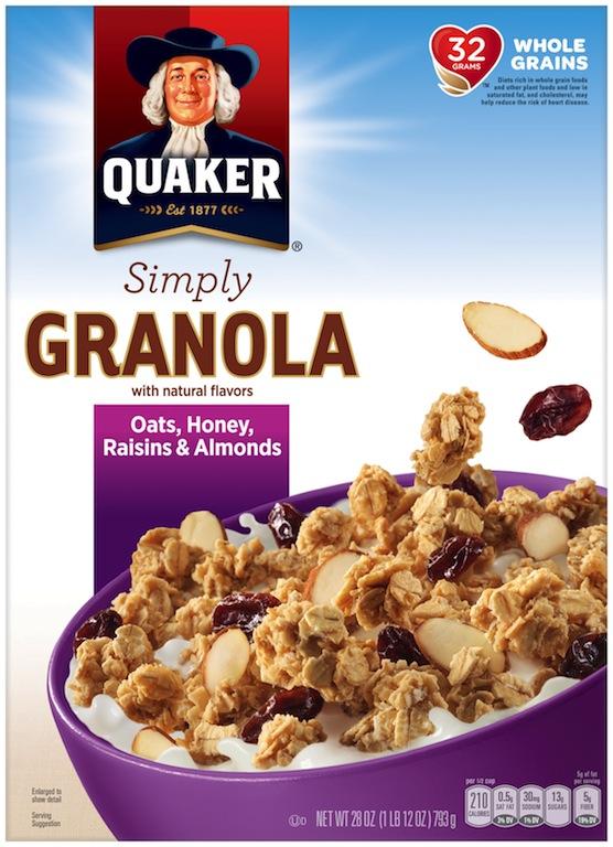 Crunchy Mango Skillet Cake -  Quaker Simply Oats, Raisins #QuakerUp #LoveMyCereal #Spon