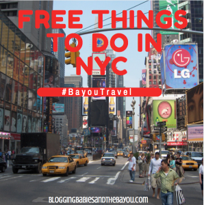 New York City Travel: Free Things to do in NYC #BayouTravel