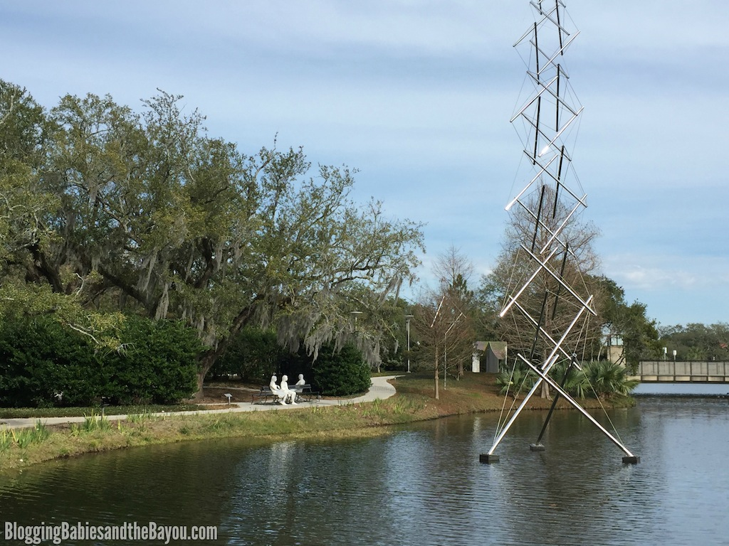 New Orleans City Park Sculpture Garden - New Orleans Attractions and Museums for Families  #BayouTravel