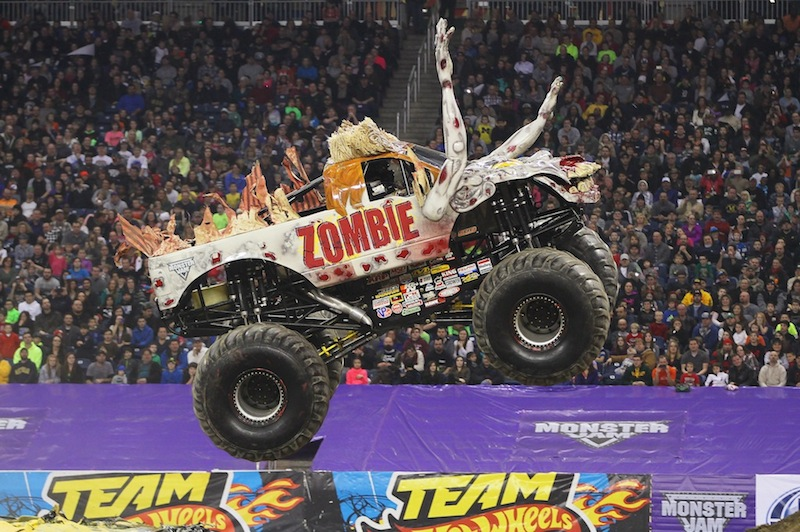 Rev Up Your Engines New Orleans, Monster Jam® is back! Mercedes-Benz Superdome 1:31:15 Zombie
