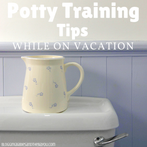 Travel Tips: Potty Training Tips While on Vacation #BayouTravel