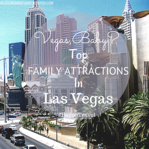 Vegas Baby! Top Family Attractions in Las Vegas #BayouTravel