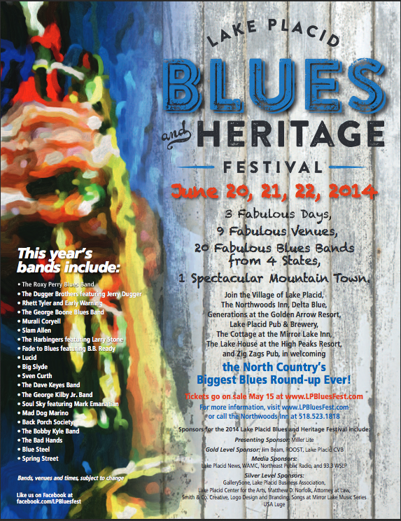 2nd Annual Lake Placid Blues and Heritage Festival