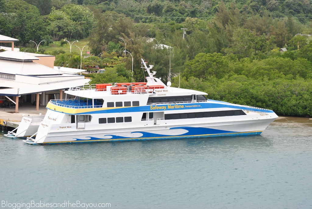 Water Excursions- Isla de Roatan, Honduras What to do on Your Cruise Port Day #BayouTravel