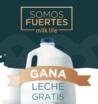 Gana Leche Gratis - milk life