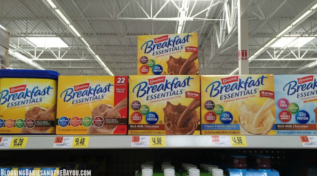 Easy to Find Nestle Carnation Breakfast Essentials #50YearsofBreakfast #ad
