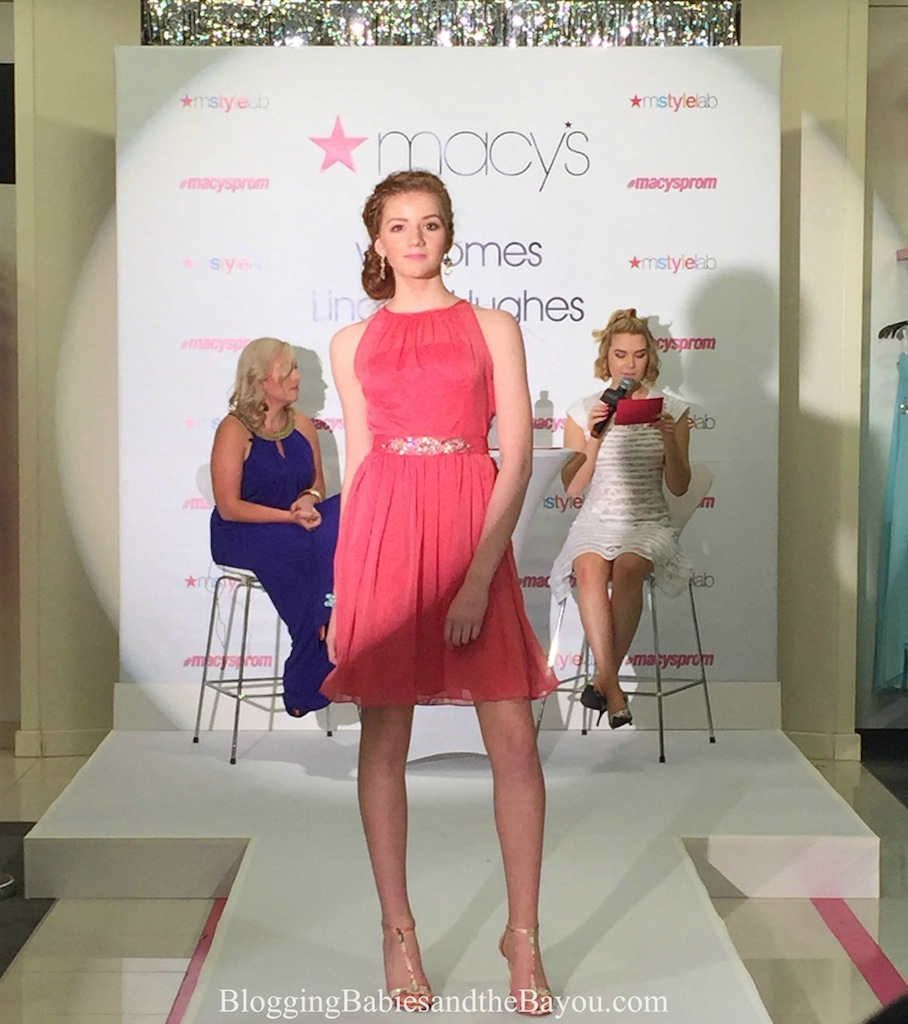 Lindsey Hughes - Macys Prom Fashion Show - Lakeside Mall Local New Orleans Models in Louisiana #MacysProm
