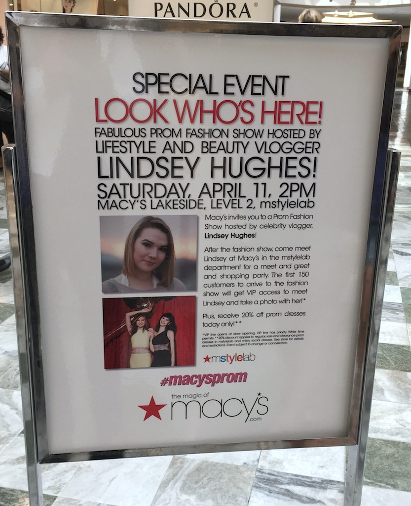 Macys Prom Fashion Show - Lakeside Mall Louisiana #MacysProm
