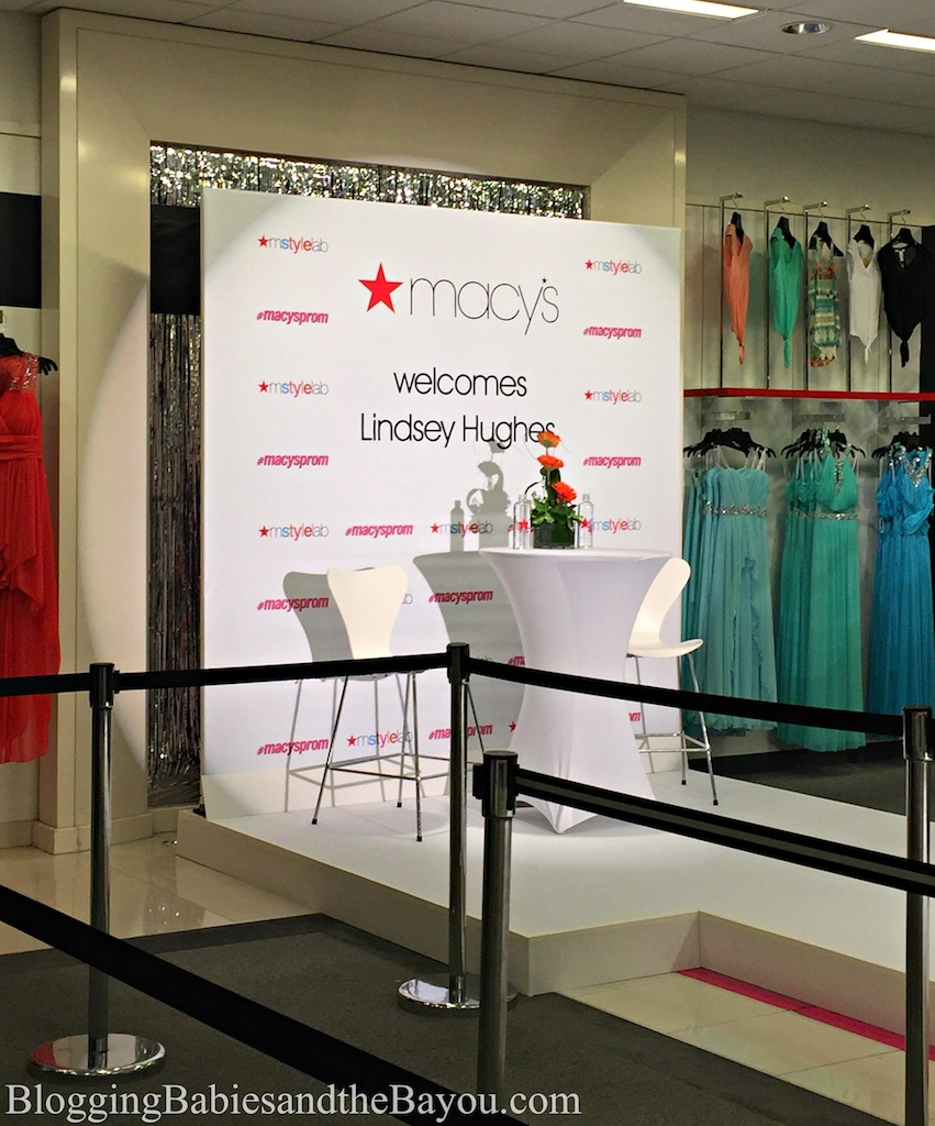 Macys Prom Fashion Show with Celebrity Vlogger Lindsey Hughes  Lakeside Mall Louisiana #MacysProm