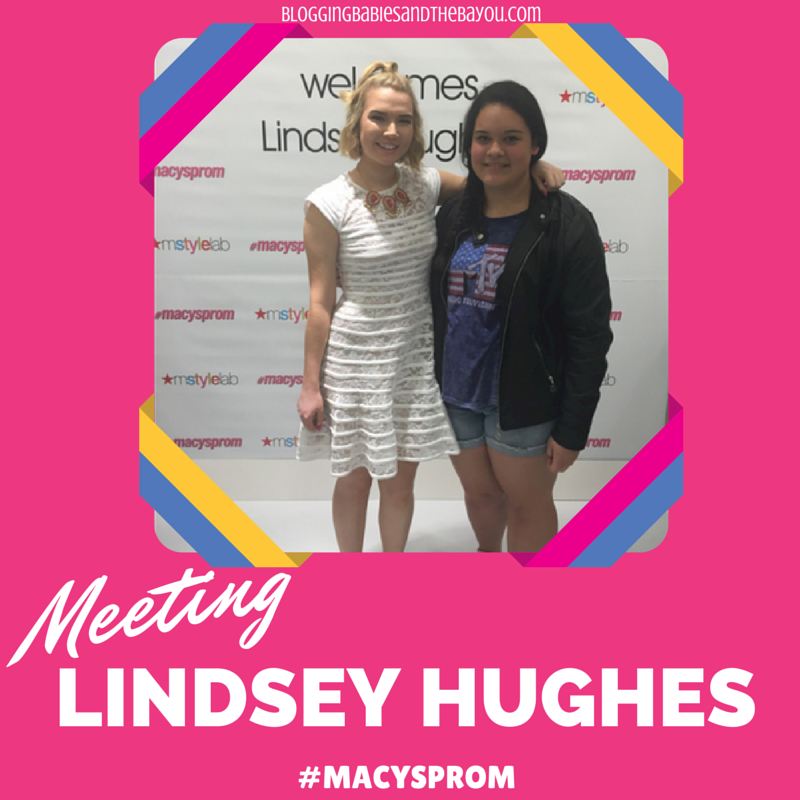Meeting Celebrity Beauty vlogger Lindsey Hughes #MacysProm