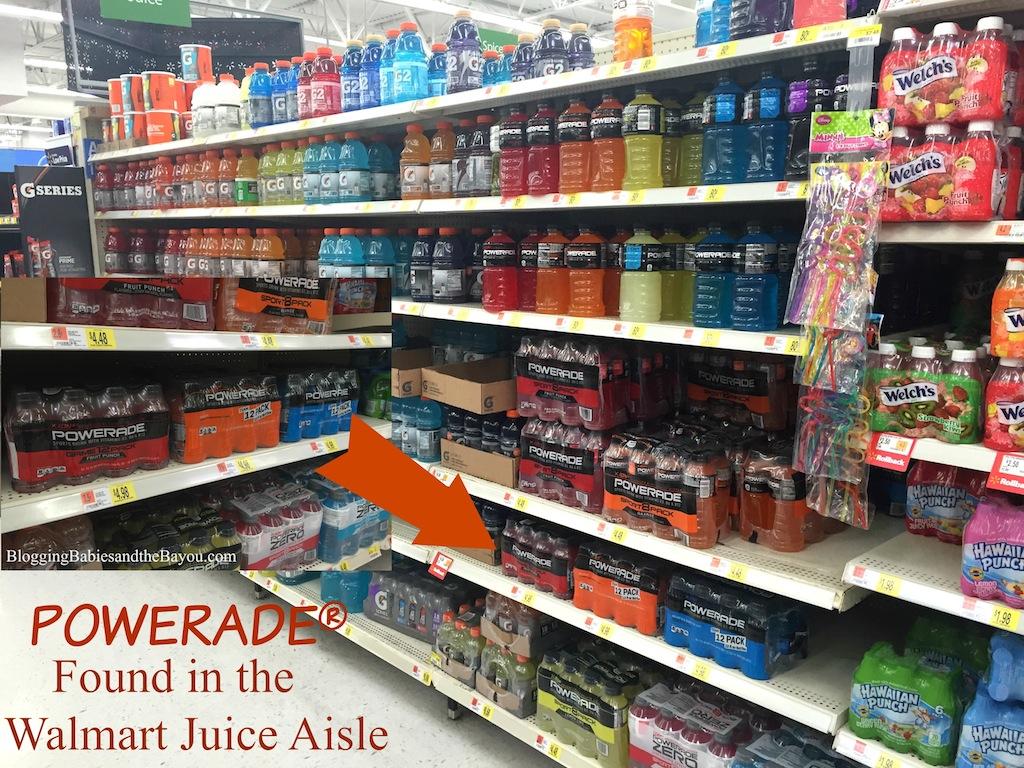 POWERADE®  Found in your Walmart Juice Aisle #SidelineHero #Ad #Cbias