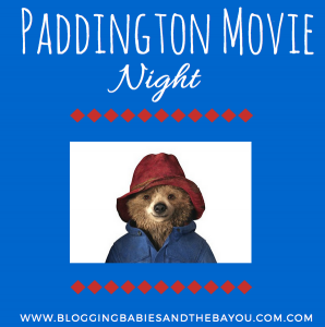 Family Fun Night – How to Host Your Own Paddington Party #PaddingtonMovie #Ad
