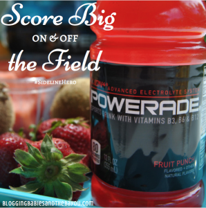 Score Big On and Off the Field with a Fruit Kabob Recipe and POWERADE® #SidelineHero #Ad