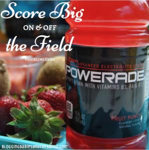 Score Big On & Off the Field with Powerade #Cbias #SidelineHero #Ad #Shop