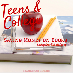 My Wakeup Call –  Teens, College Planning and the High Cost of Books #Sponsored
