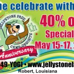 Come Celebrate Yogi Bear's  Jellystone Park​ – 40th Anniversary​ ​in Robert, LA ​#BayouTravel #Spon