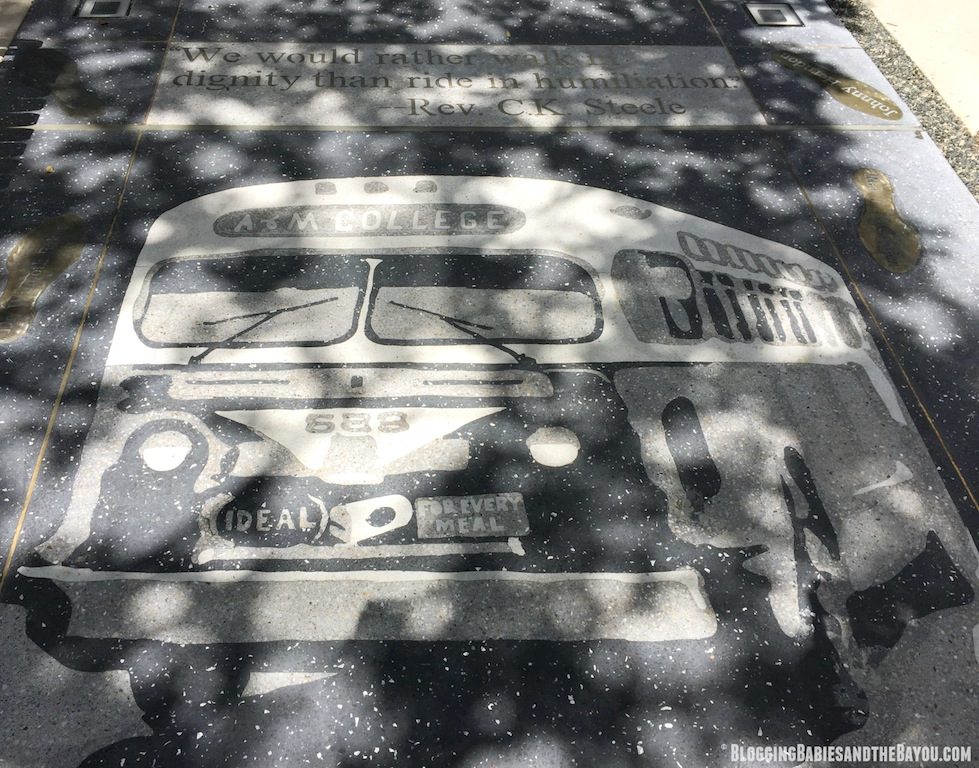 Attractions and Museums in Tallahassee Florida - Civil Rights Heritage SideWalk