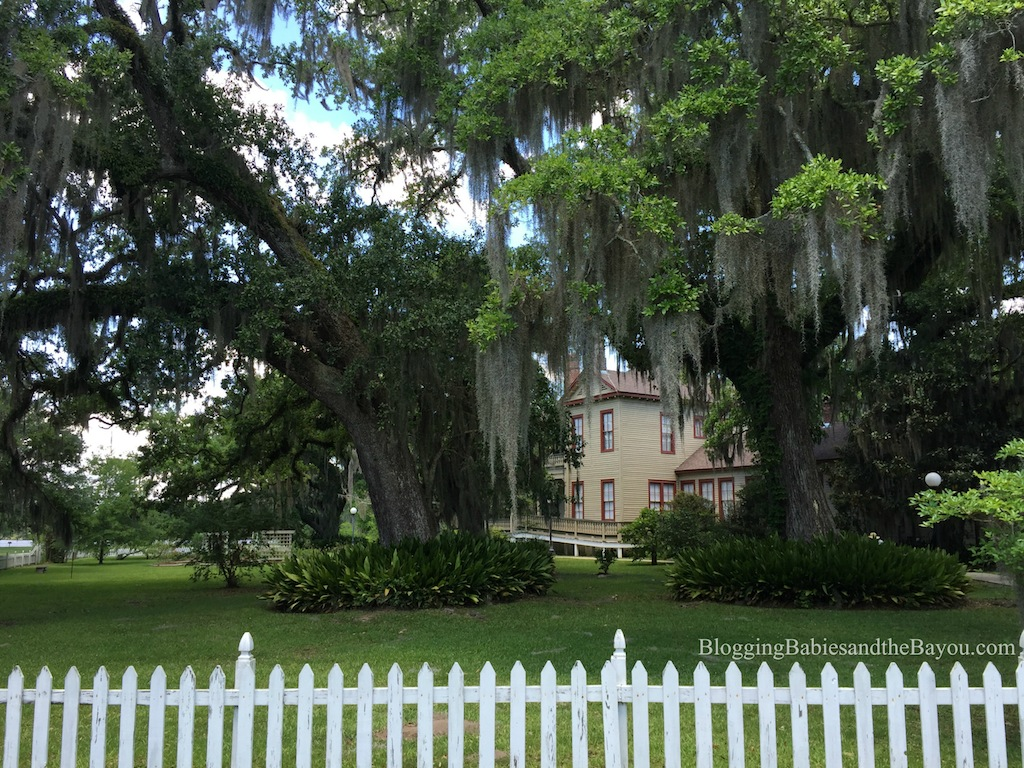 Historic Homes in the New Orleans Area - Otis House At The Fairview Riverside State Park #BayouTravel
