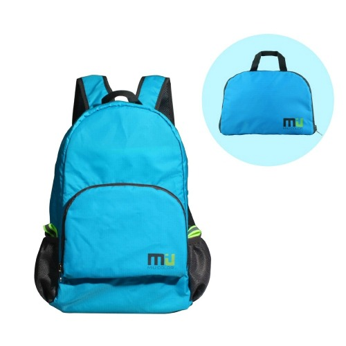 MIU COLOR® Packable Handy Lightweight Nylon Backpack Daypack - Foldable and Water Resistant