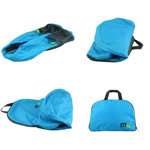 9c3af01f31 MIU COLOR® Packable Handy Lightweight Nylon Backpack Daypack - Foldable and  Water Resistant  BayouTravel