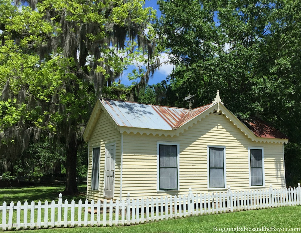 New Orleans Area Attractions - Otis House At The Fairview Riverside State Park #BayouTravel