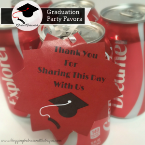 Share Moments with a Coke + Graduation Favor Tag Printable  #ShareItForward #ad