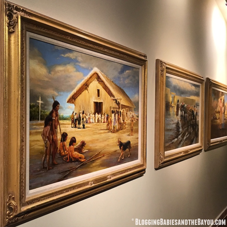 What to see and do in Tallahassee Florida - Tallahassee Atractions Mission San Luis de Apalachee