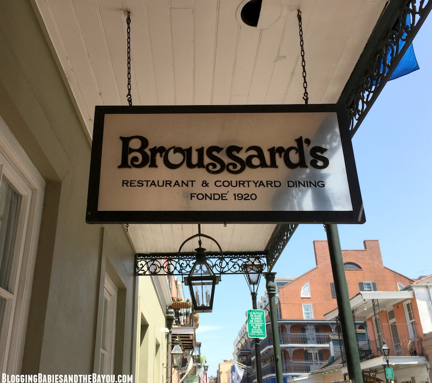 Broussards Restaurant New Orleans - NOWFE Barefoot Wines  in  New Orleans #BayouTravel