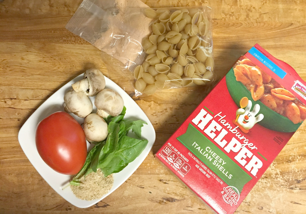 Making Cheesy Italian Shells - REcipe Included #SaveonHelper #Ad