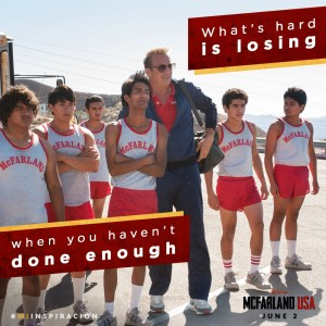 There is a Champion in all of Us + McFarland, USA  Giveaway #McFarlandUSA #MiInspiracion #Ad
