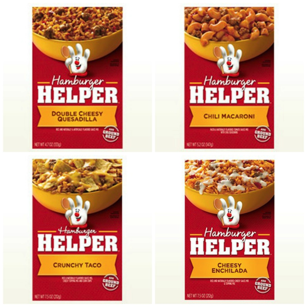 Mexican Favorites - National Hamburger Month and you are using Hamburger Helper® to celebrate!