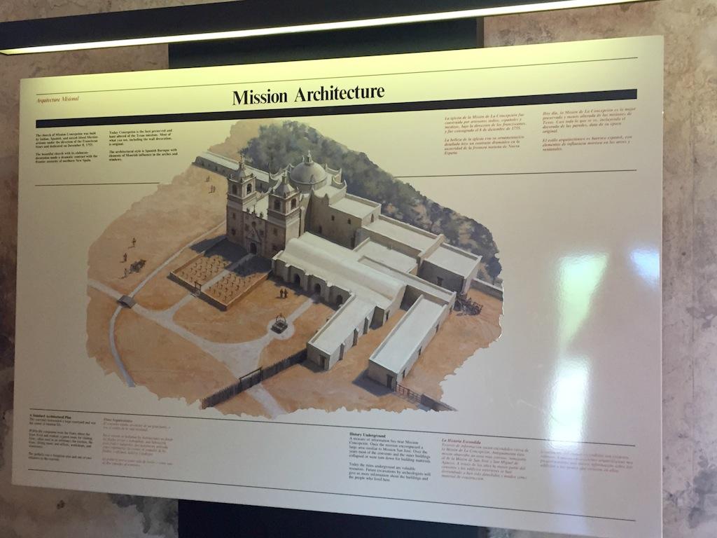 Mission Concepcion - San Antonio Missions National Historical Park  #BayouTravel - Original Architecture
