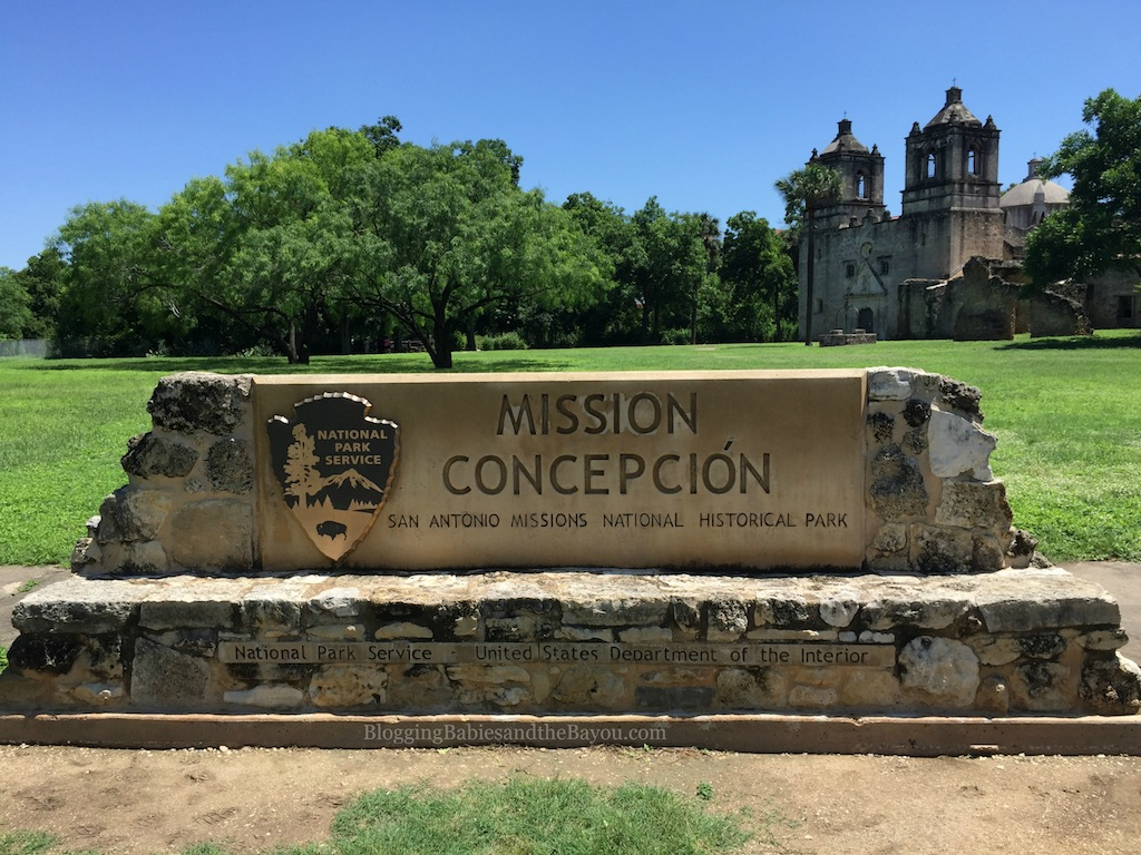 Mission Concepcion - San Antonio Missions National  Historical Park  #BayouTravel