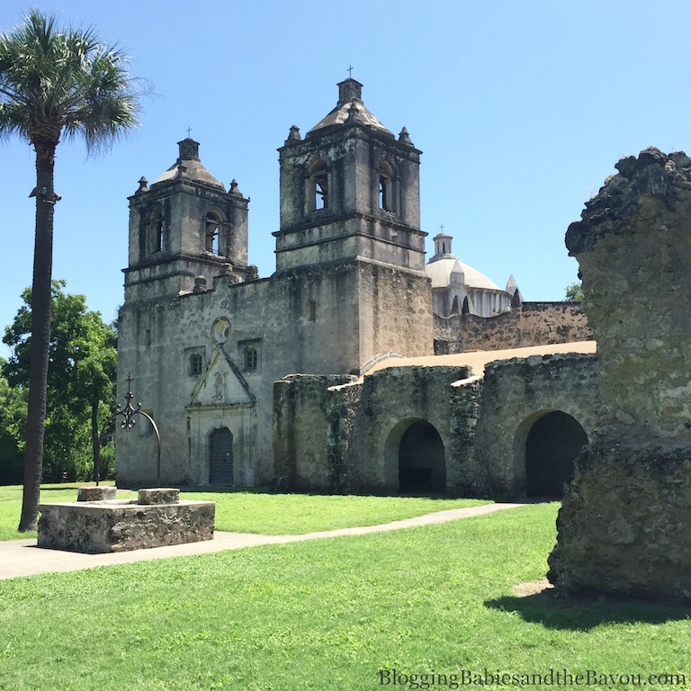Mission Concepcion - San Antonio Missions National Historical Park - Family Friendly Attractions   #BayouTravel