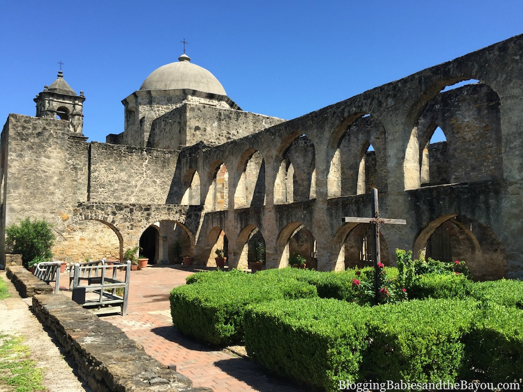 San Antonio Missions National Historical Park - Beautiful San Jose Mission #BayouTravel