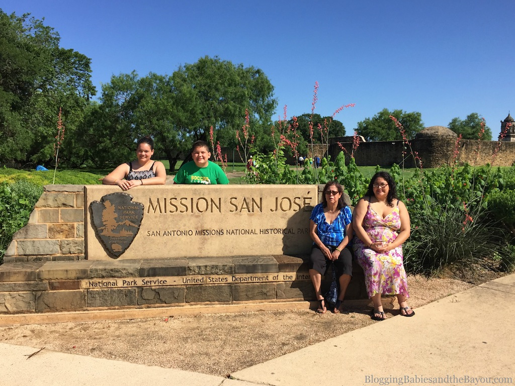 San Antonio Missions National Historical Park - San Jose Mission - Family Attraction Ideas #BayouTravel