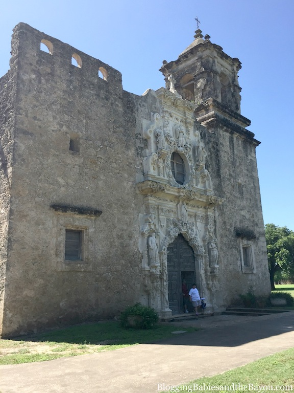San Antonio Missions National Historical Park - San jose Mission & Church  #BayouTravel